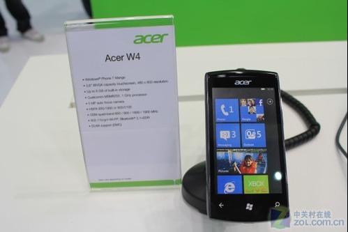 ظهور أول هاتف ويندوز فون Acer بنظام مانجو خلال مؤتمر