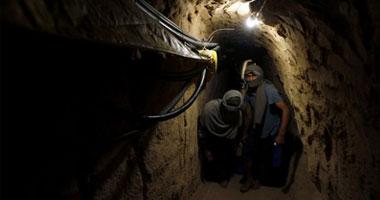مصر تنفى تدمير الأنفاق على حدود غزة.. وتفجير نفقين برفح