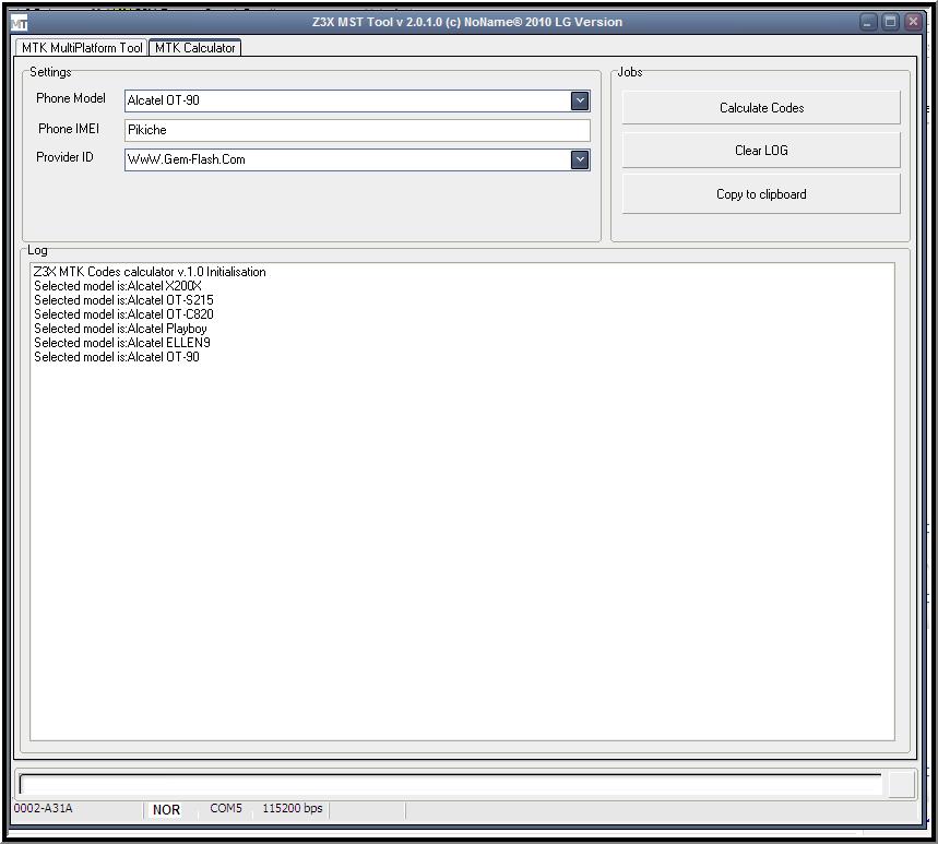 MTK Smart Tool 2.0.1.0 Released.