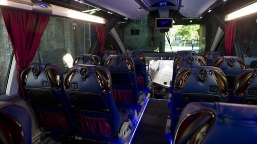لحافلة برشلونة الجديدة