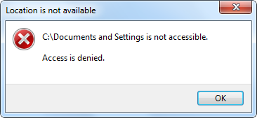 ����� �� ���� C:\Documents and Settings