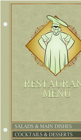 اضخم مكتبة منيو مطاعم  ـ ملفات مساعدة في تصميم القوائم ـ فلاير ـ بروشور : ملفات eps  ai  cdr قابلة للتعديل
