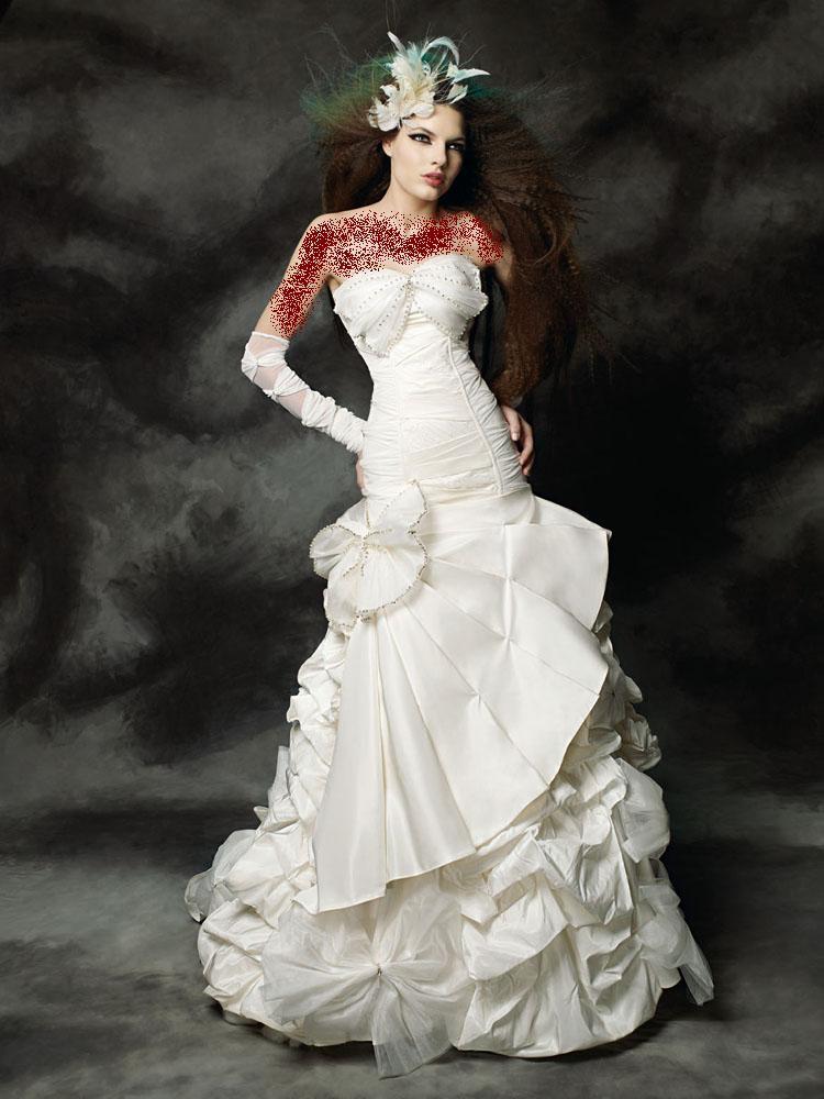 فساتين عروسة متقوليش لعدوك عليها