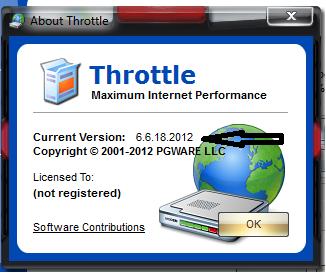 صاروخ تسريع النت الحقيقى مع برنامج Throttle 6.5.7.2012
