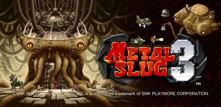 الجزء الثالث من اللعبة الشهيرة METAL SLUG 3 + ملف الداتا (لجميع اجهزة الاندرويد)