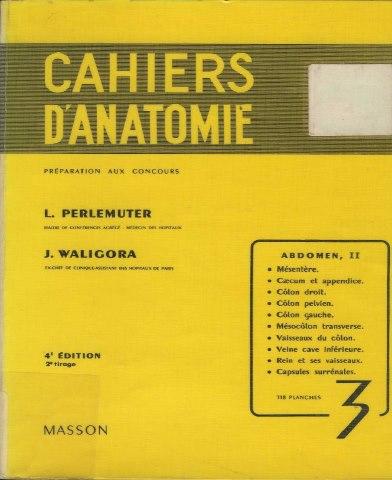 Cahiers d'anatomie 924795944