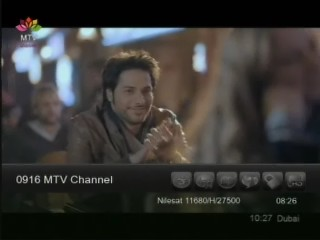 ���� ����� Nilesat 101/102/201 @ 7� West ���� MTV Channel