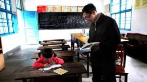 مدرسة بمدرس واحد لطفلة واحدة 708257451