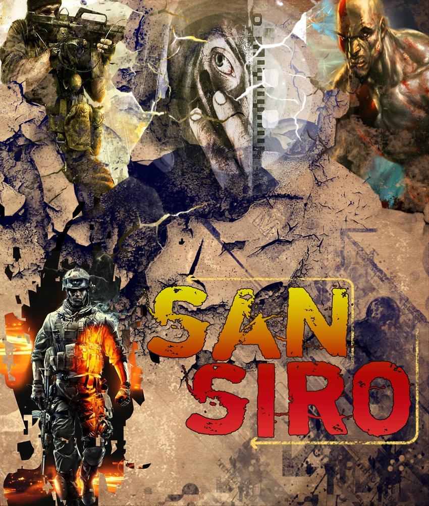 تصميم Poster SanSiro   newwwwww