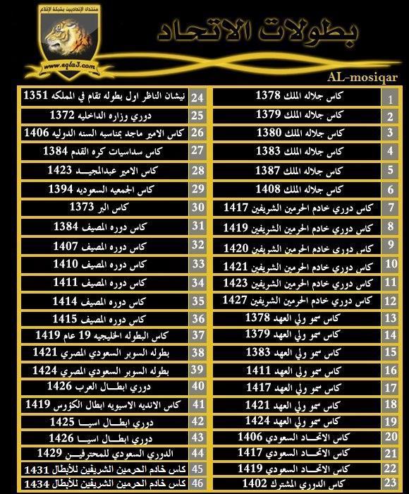 بطولات العميد تاريخ ناصع بالإنجازات والأولويات 46 بطوله في عين العدو تصميم منتدى الاتحاد السعودي شبكة الاتحاد