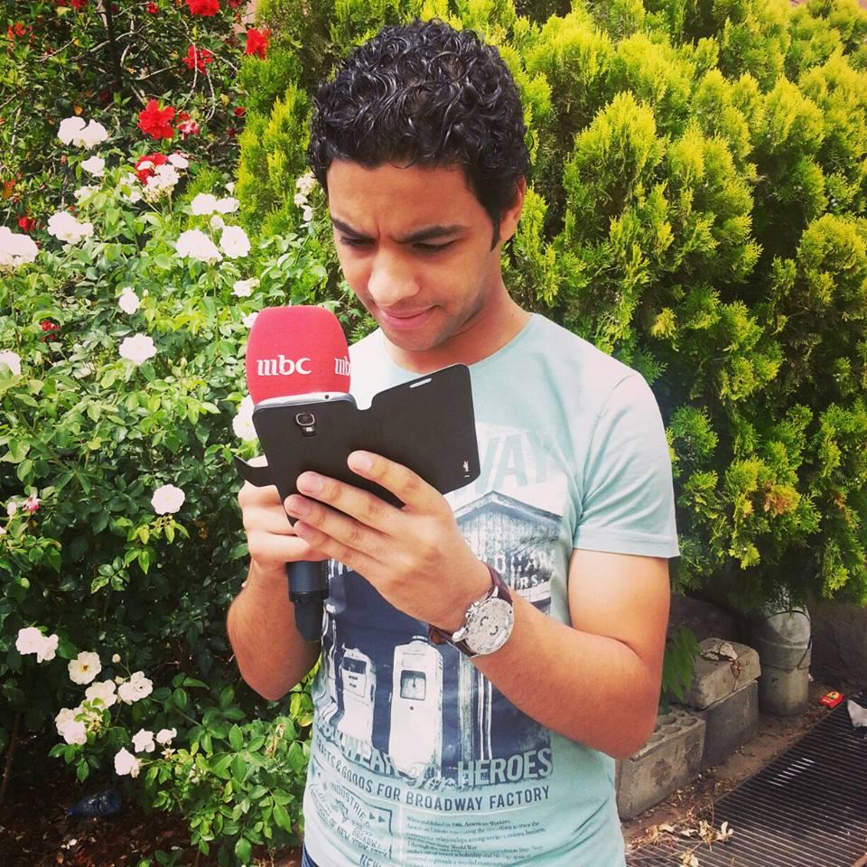 صوره لاحمد جمال في التدريب