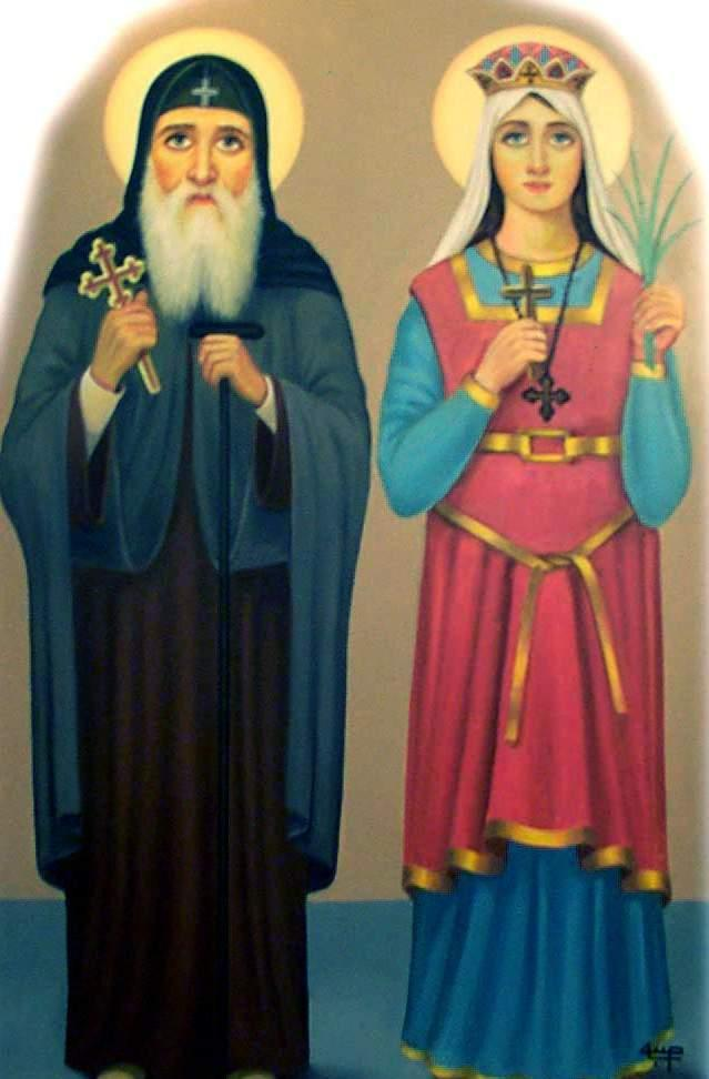 استشهاد القديس كبريانوس الأسقف والقديسة يوستينه