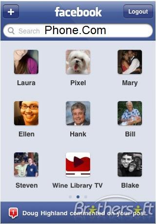 go7aphone: FB program for mobile Facebook Mobile (JAR