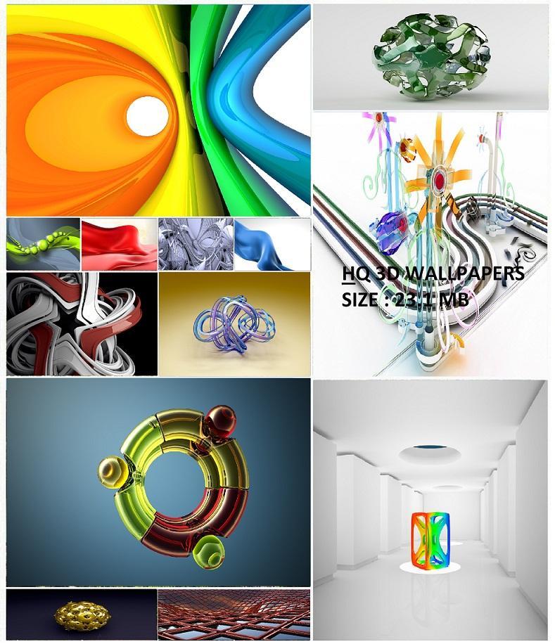 خلفيات ثلاثية الابعاد روعة بنقاء