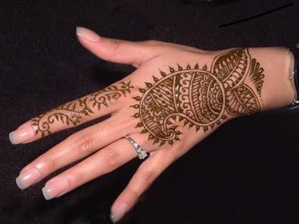 115191219 صور رسومات وتصاميم حنة العروسين, رسومات حنة سودانية حديثة 2014