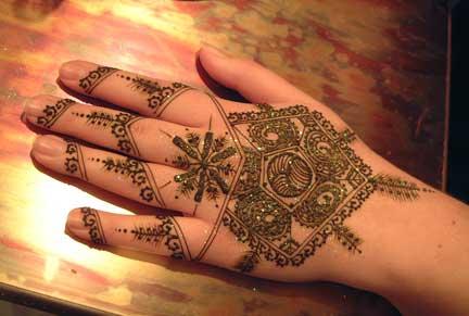 صور رسومات وتصاميم حنة العروسين, رسومات حنة سودانية حديثة 2014
