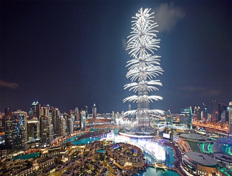 775722557 شاهد صور احتفالات راس السنة الميلادية 2014 فى دبى و برج خليفة
