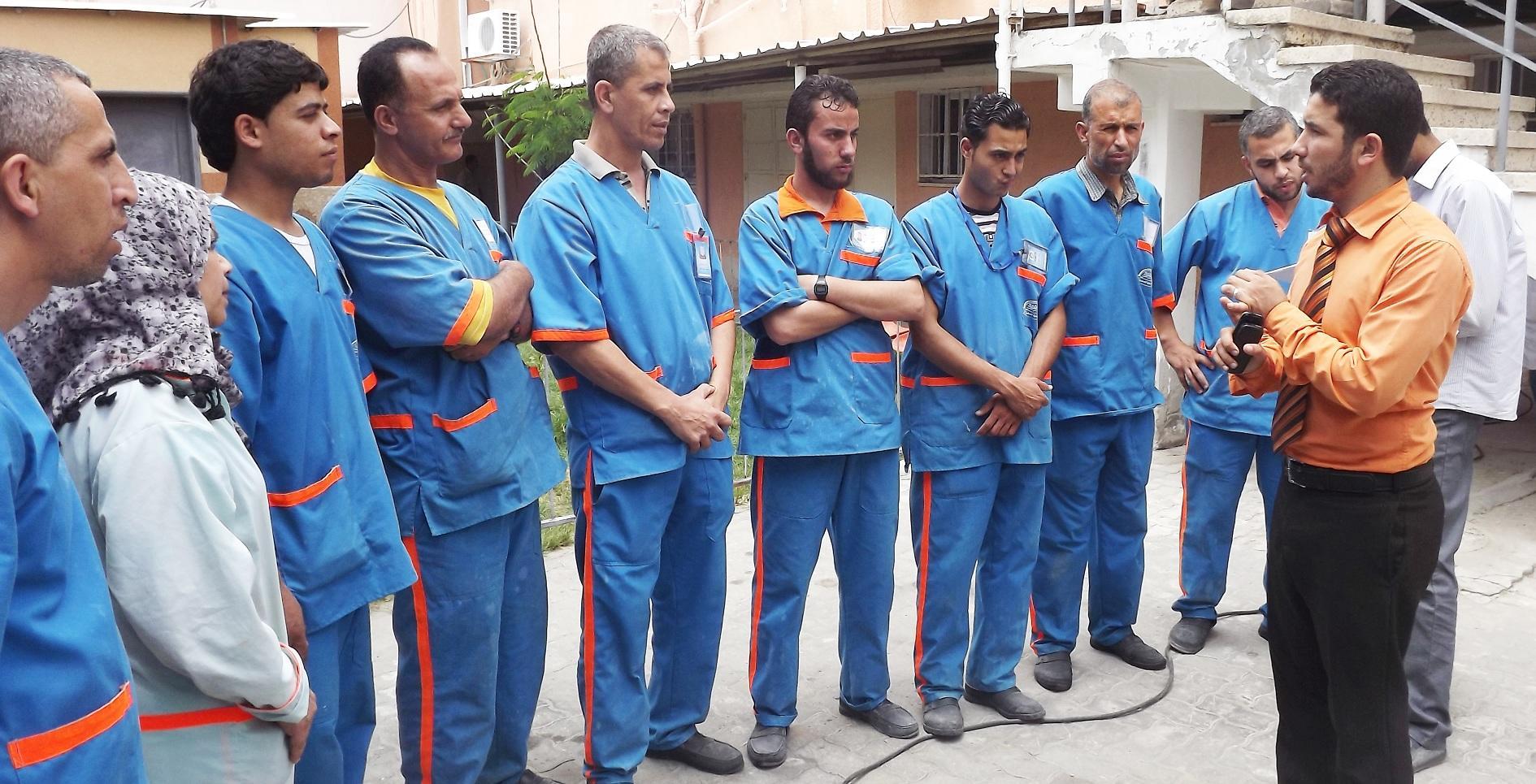 زيارة مستشفى النصر