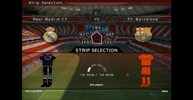 أوبشن فايل PES6 Option File