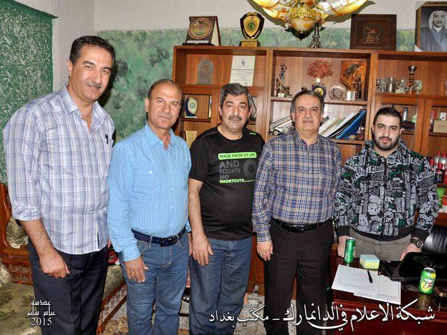 افتتاح المكتب الجديد لشبكة الإعلام في الدانمارك - بغداد