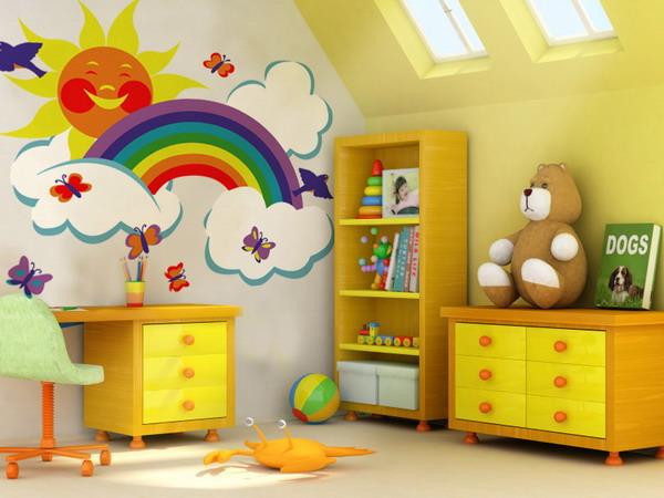 ازاى تخلى غرفة طفلك هى ممللكته ومكانه المفضل اتفضلى بالصور
