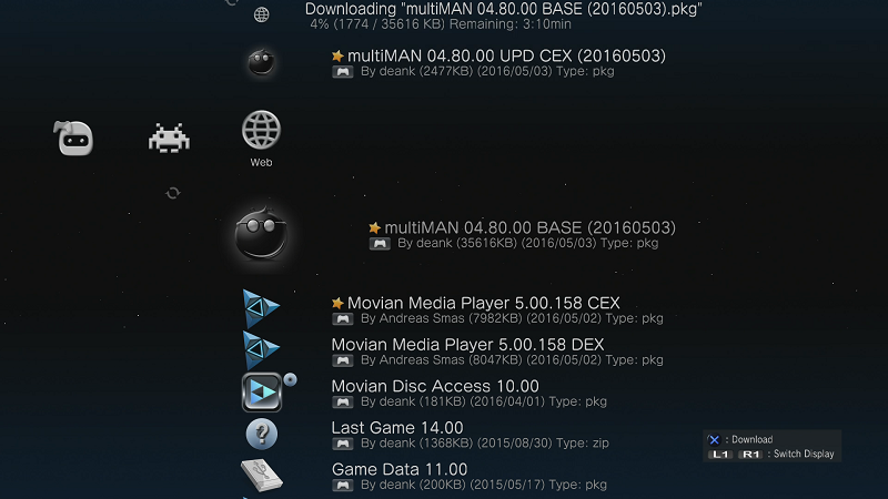 multiman ps3 4.80 gratuit