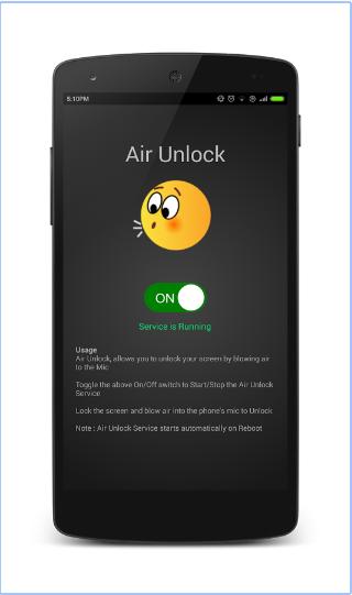 تطبيق عجيب لفتح شاشة هاتفك بمجرد النفخ عليها coobra.net