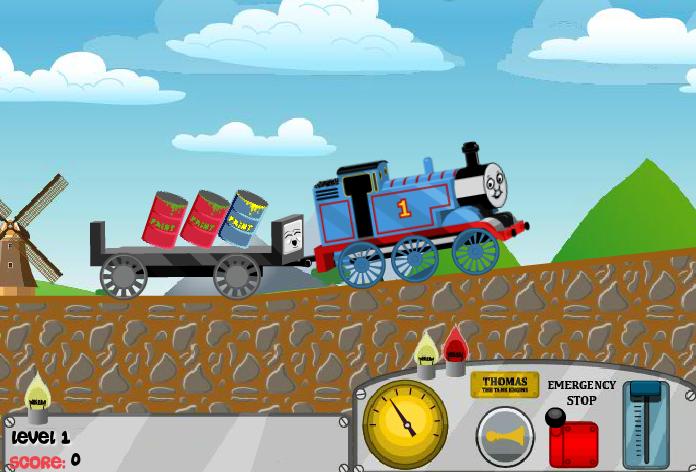 لعبة البضائع بالقطار