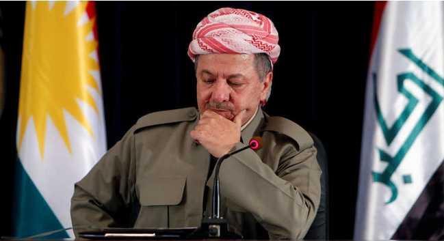 نص رسالة بارزاني لبرلمان كردستان : سابقى بيشمركة