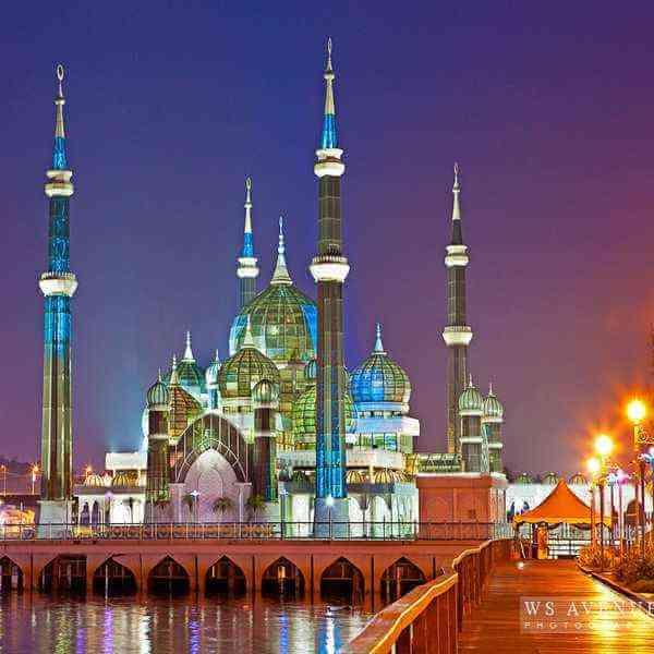 مسجد الكريستال بماليزيا 235232876