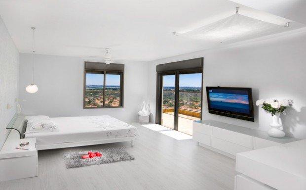 ديكورات غرف نوم باللون الابيض تبعث على الهدوء والاسترخاء حصري 2018 705634524.jpg