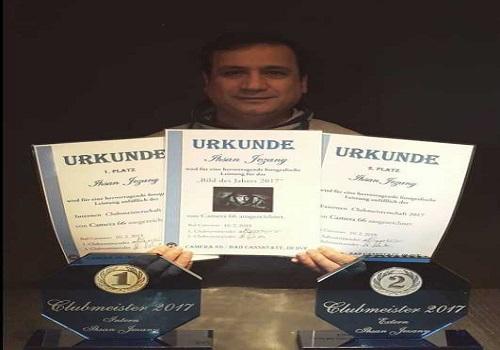 الفنان احسان الجيزاني يحصل على ثلاث جوائز في المانيا