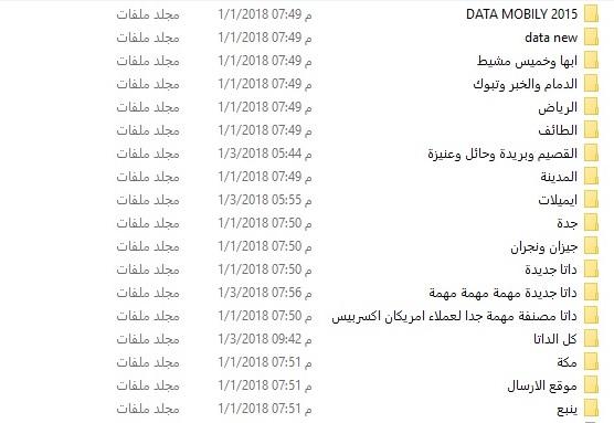 قاعدة بيانات ارقام جوالات سعودية