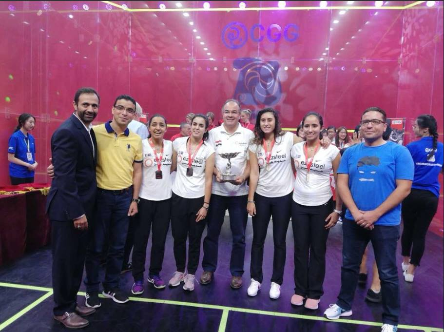 مصر تفوز ببطولة العالم للاسكواش للمرة الرابعة على التوالى  المقامة فى الصين 967010418