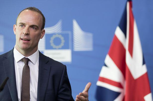 Brexit Secretary Dominic Raab Warns Brussels That UK Will Slash Corporation Tax In A 'No Deal' EU Exit