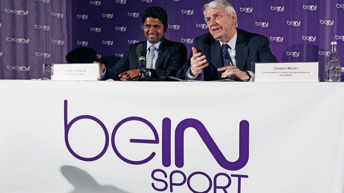 اعلان انطلاق قنوات bein sport في مؤتمر صحفي