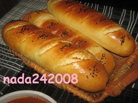 خبز الفرينة خفيف وبنين اممممممممممم