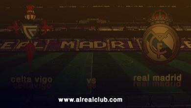 الجولة الثامنة : ريال مدريد - سيلتا فيغو [ بطاقة اللقاء ] .