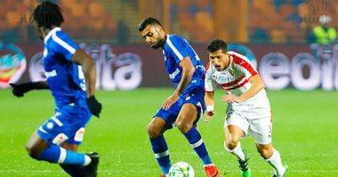 ملخص مباراة الزمالك وسموحة 0 0 الدوري المصري كورة شوت