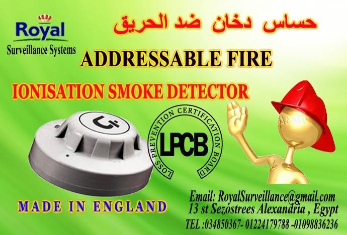 حساسات  دخان الحريق  Addressableبأعتماد اوروبى 499343519